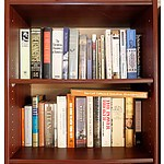 Five Shelves of Biographies, Politics and International Relations Reference Books