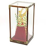 24k Gold Plated Kum Kwan-Chong Replica Crown in Display Case