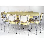 1950's Yellow Laminex Dining Suite