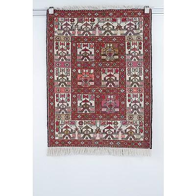 Caucasian Soumak Type Flat Weave Rug