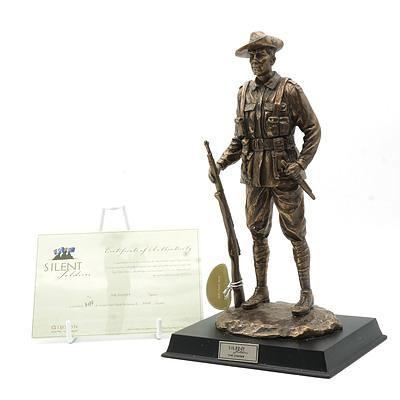 Limited Edition Gibson Cast Resin Silent Soldiers, The Digger, 3099/5000