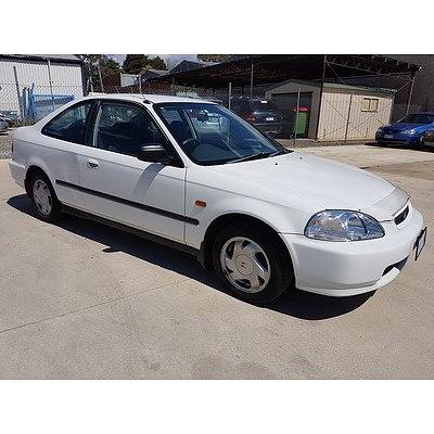 11/1996 Honda Civic VTi  2d Coupe White 1.6L