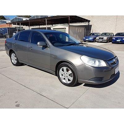1/2008 Holden Epica CDX EP MY08 4d Sedan Grey 2.5L