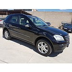 1/2006 Mercedes-Benz Ml 350 Luxury (4x4) W164 4d Wagon  3.5L