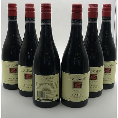 Case of 6x St Hallett 2016 Faith Shiraz 750ml