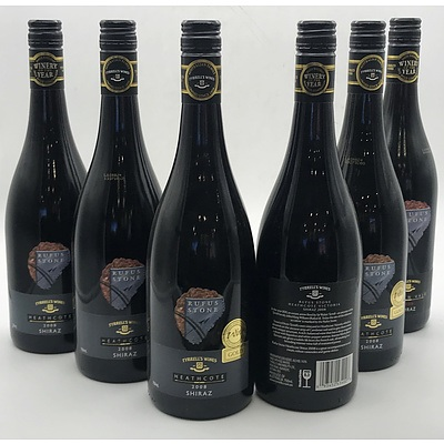 Case of 6x Tyrell's Wines 2008 Rufus Stone Shiraz 750ml