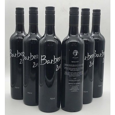 Case of 6x Di Lusso 2017 Barbera 750ml