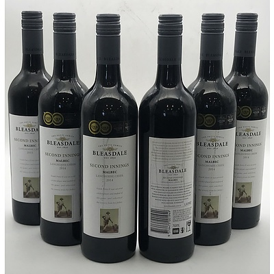 Case of 6x Bleasdale 2014 Second Innings Malbec 750ml