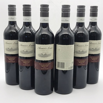 Case of 6x Annie's Lane 2017 Cabernet Merlot 750ml