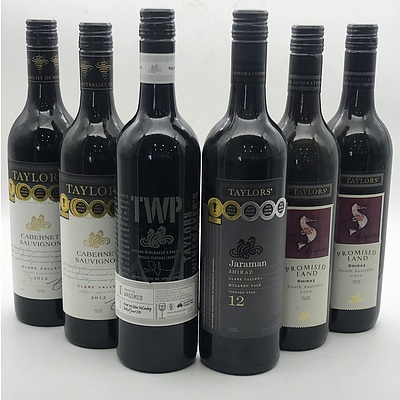 Case of 6x Assorted Taylor's Winemakers Project Red Wines