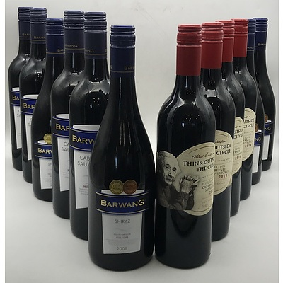 Case of 12x Assorted Red Wines From The NSW Hilltops