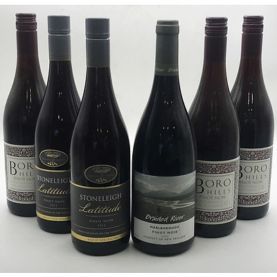 Case of 6x Assorted New Zealand Wines