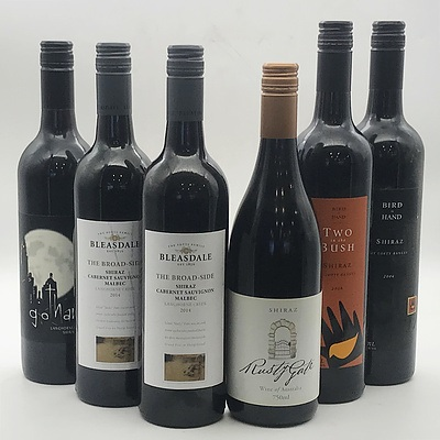 Case of 6x Assorted Langhorne Creek South Australian Red Wines