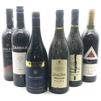 Case of 6x Assorted Victorian Red Wines