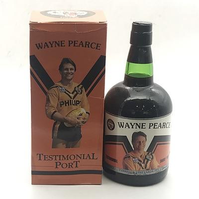 Bottle of Tyrell's Wines N.V. 'Wayne Pearce Testimonial' Tawny Port 750ml