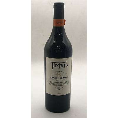 Bottle of Tintara 2007 Blewitt Springs Sub Regional Shiraz 750ml