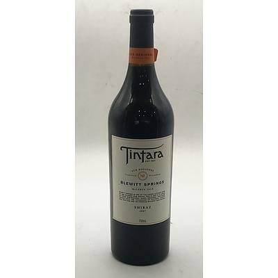 Bottle of Tintara 2007 Blewitt Springs Sub Regional Shiraz 750ml