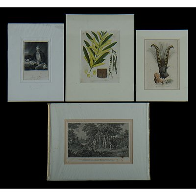 4 Early Australian Prints