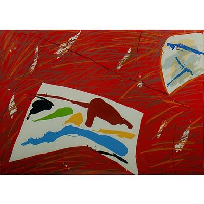 KUO Graham (b.1949) 'Six on White 9' 1982