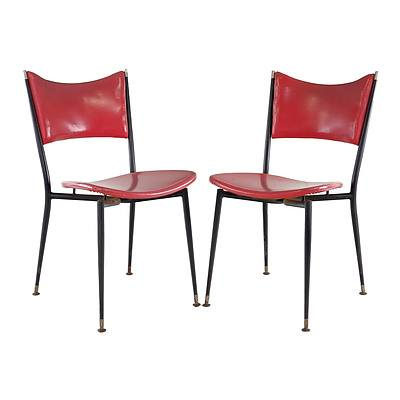 Four Retro Aristoc Mitzi Chairs, Designed by Grant Featherson