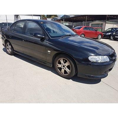 9/2000 Holden Commodore S VX 4d Sedan Black 3.8L