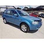 6/2006 Ford Territory GHIA (4x4) SY 4d Wagon Blue 4.0L