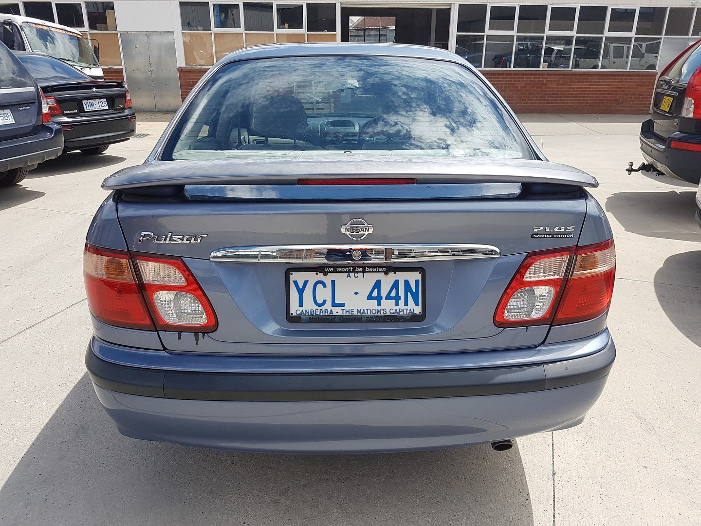 12  2002 Nissan Pulsar Lx Plus N16
