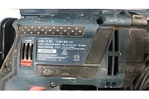 Bosch 13mm Impact Drill and Makita 185mm Circular Saw