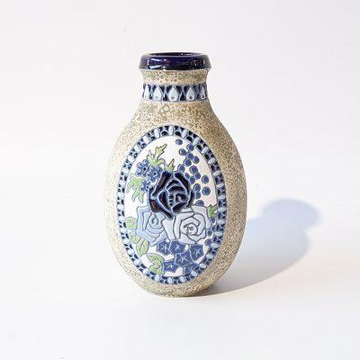 Czech Amphora Vase