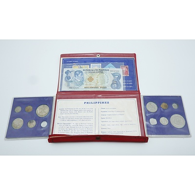 Philippines Pearl of the Orient Seas Stamp and Coin Set