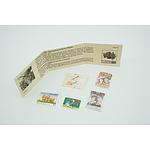 Set of 5 Australian 'Specimen' Stamps
