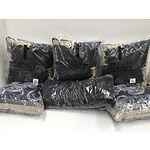 Group of Brand New Couch Cushions Including Extreme Memory Foam Cushion, Trelise Cooper Pillows and more