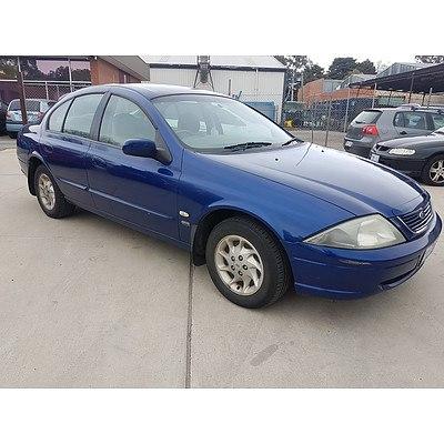 11/1998 Ford Fairmont  AU 4d Sedan Blue 4.0L