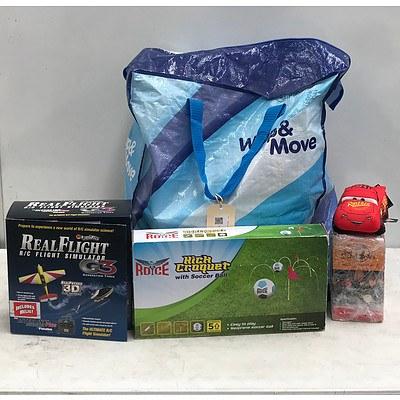 Bulk Bag of Toys, Games & Books