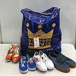 Bulk Bag of Men's, Women's & Children's Shoes