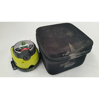 Ryobi Air Grip Vacuum Base Laser Level