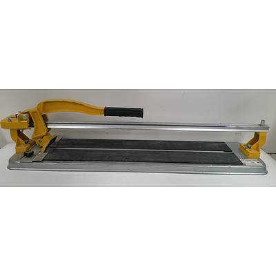 Workzone 600mm Tile Cutter, Hand Saw, Earthcore Block Splitter