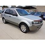 7/2004 Ford Territory TX (4x4) SX 4d Wagon Silver 4.0L