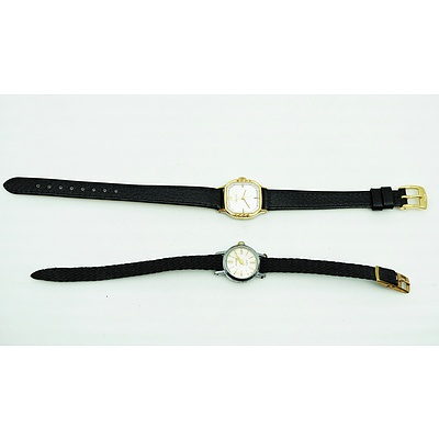 Two Ladies Wrist Watches, Including Citizen and a Swiss 17 Jewel Pierpont Watch