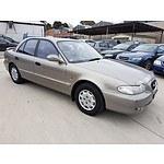 5/1998 Hyundai Sonata GLE  4d Sedan Grey 2.0L