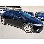 3/2010 Honda Civic SI FK 5d Hatchback Black 1.8L