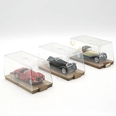 Three Cased Brumm Models