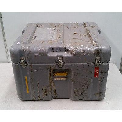 Grey Latching Cargo Trunk