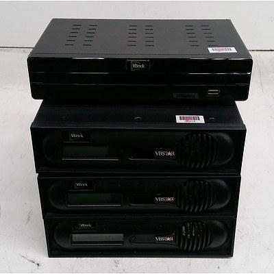 VBrick Assorted A/V Equipment - Lot of Four