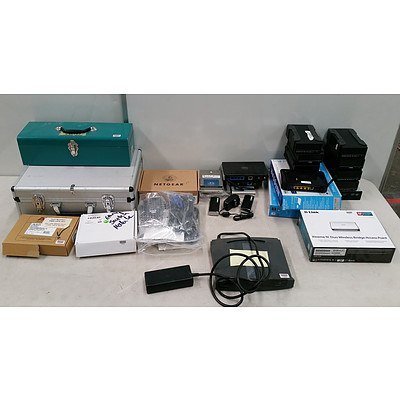 Bulk Lot Of Assorted IT and 2 Toolboxes