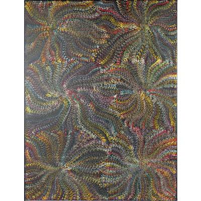 Maureen Purvis Kngwarreye (1962-) Atnwelarre - Pencil Yam Dreaming, Acrylic on Canvas