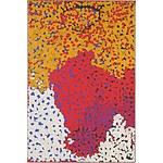 Lorna Napurrula Fencer (c.1925-2006) Caterpillar Dreaming, Acrylic On Canvas