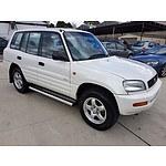 5/1997 Toyota Rav4 Oasis (4x4)  4d Wagon White 2.0L