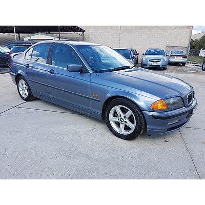 6/2001 Bmw 320i E46 4d Sedan Blue 2.2L