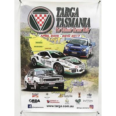 Lot of Five Targa Tasmania Posters